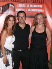 Esperanza Jimenez y Vicente Seva (Director del Festival de Cine de Alicante