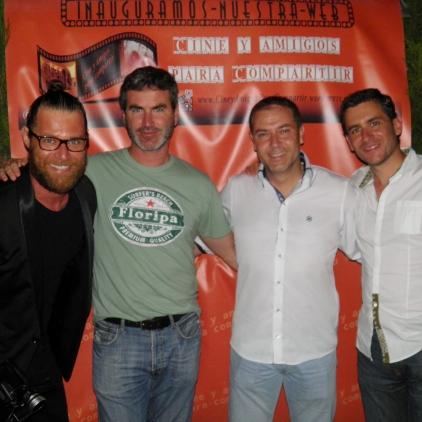 Josep Pastor y Jazz Daniels nos acompañaron junto a otros personalidades del mundo del cine