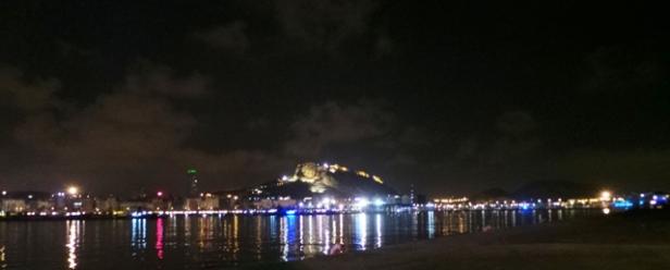 Alicante desde la plataforma de Seagrams