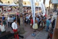 Recibiemiento en el Puerto de Alicante