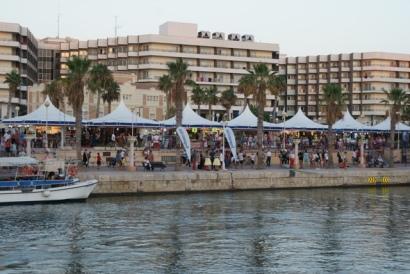 Puerto de Alicante lugar escogido por Seagrams