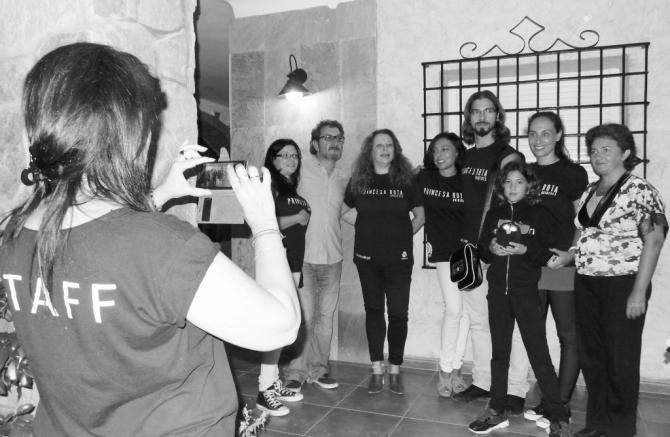 Sesión de cine con el equipo de Princesa Rota Orígenes