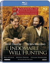 El Indomable Will Hunting (Good Will Hunting) (Blu-ray), dirigida por Gus Van Sant