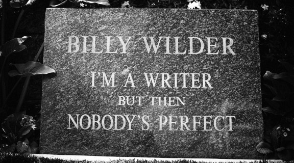 Lápida Billy Wilder