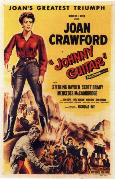 Johnny Guitar de NICHOLAS RAY