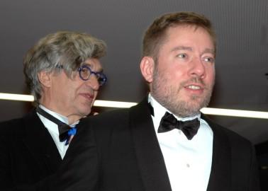 Wim Wenders y Juliano Ribeiro Salgado
