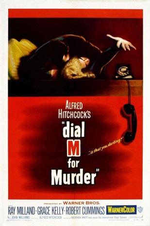 Crimen Perfecto (Dial M for Murder), dirigida por Alfred Hitchcock;