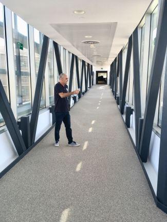 Exposición José Cerezo en la EUIPO, espacio cultural La Pasarela