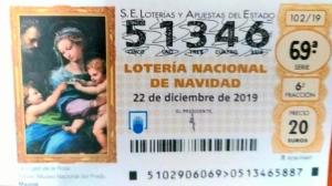 Lotería Navidad 2019 51346